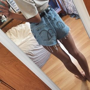 Levi's Shorts - Vintage cut off denim shorts